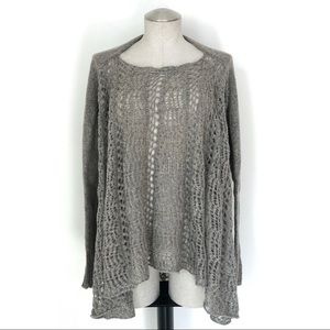 Boho Open Knit Swing Sweater Size S/M